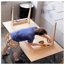 Сборка столов по низким ценам в Вологде от специалистов