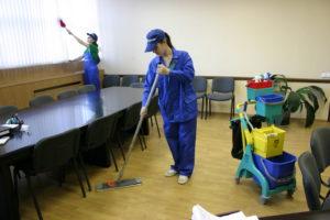 Уборка офисов от Домашних мастеров