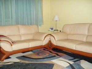 Перетяжка кожаной мебели в Вологде