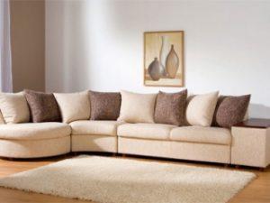 Перетяжка углового дивана на дому в Вологде